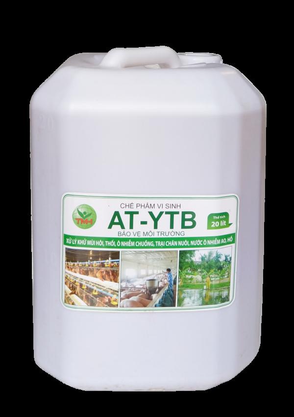 AT-YTB can 20 lít (xử lý khử mùi hôi thối, ô nhiễm chuồng trại chăn nuôi, nước ao hồ)