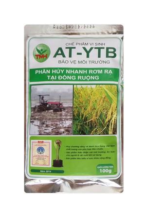 AT-YTB túi 100g (phân hủy nhanh rơm rạ tại đồng ruộng)
