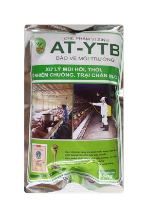 AT-YTB túi 150g (xử lý mùi hôi, thối ô nhiễm chuồng, trại chăn nuôi)