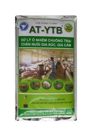 AT-YTB túi 1kg (xử lý ô nhiễm chuồng trại, chăn nuôi, gia súc, gia cầm)