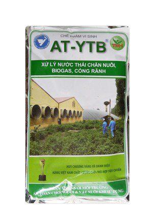 AT-YTB túi 1kg (xử lý nước thải chăn nuôi, biogas, cống rãnh)