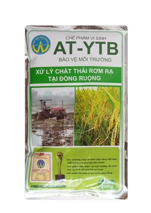 AT-YTB túi 200g (xử lý chất thải rơm rại tại đồng ruộng)