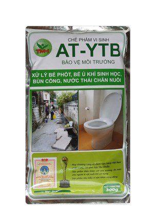 AT-YTB túi 300g (xử lý bể phốt, bể ủ khí sinh học, bùn cống)
