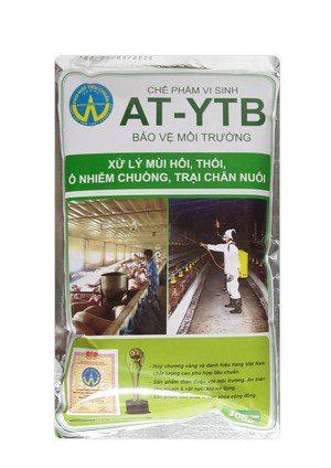 AT-YTB túi 300g (xử lý mùi hôi, thối ô nhiễm chuồng, trại chăn nuôi)