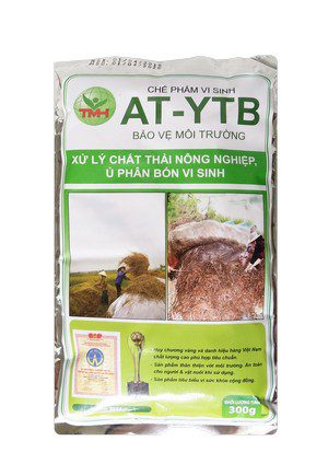AT-YTB túi 300g (xử lý chất thải nông nghiệp, ủ phân bón vi sinh)