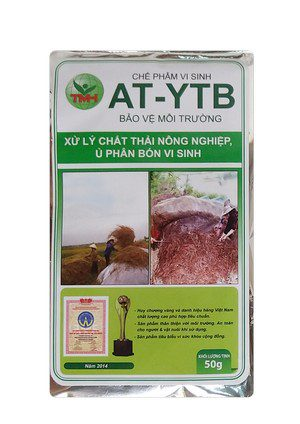 AT-YTB túi 50g (xử lý chất thải nông nghiệp, ủ phân bón vi sinh)