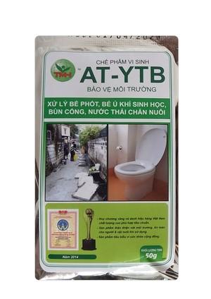 AT-YTB túi 50g (xử lý bể phốt, bể ủ khí sinh học, bùn cống)
