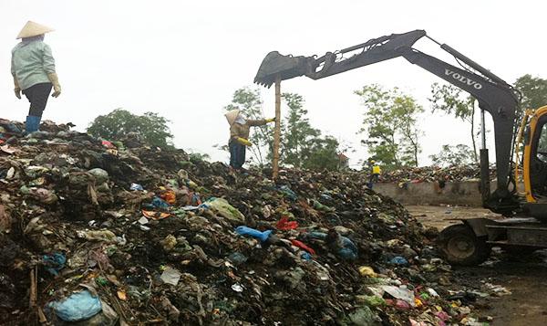 nhà máy / nơi tập kết rác
