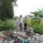 Xử lý rác ô nhiễm tại con đường rác xã Lưu Kiếm - Thủy Nguyên - Hải Phòng