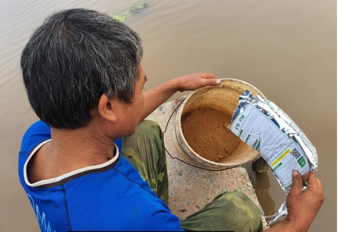Chăm sóc cá, định kỳ xử lí môi trường nước