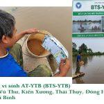Mô hình  nuôi thủy sản dùng vi sinh AT-YTB ở Thái Bình