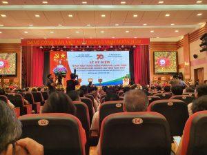 Công ty môi trường TMH tham dự kỷ niệm 70 năm truyền thống ngành thú y Việt Nam