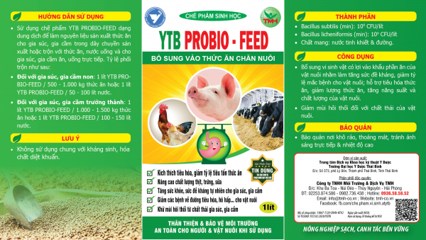 YTB Probio-Feed tem 1 lít