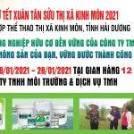 Hội chợ xuân và năm sản xuất nông nghiệp an toàn hướng đến hữu cơ cùng cty TMH