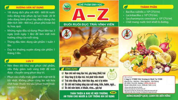 Chế phẩm sinh học A-Z